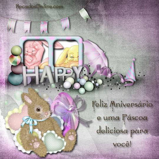 Aniversário na Páscoa Imagem 4