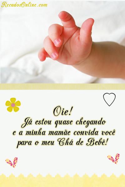 Convites para Chá de Bebê Imagem 2