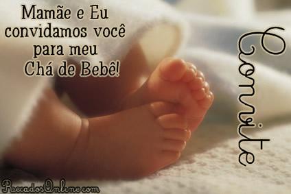Convites para Chá de Bebê Imagem 5