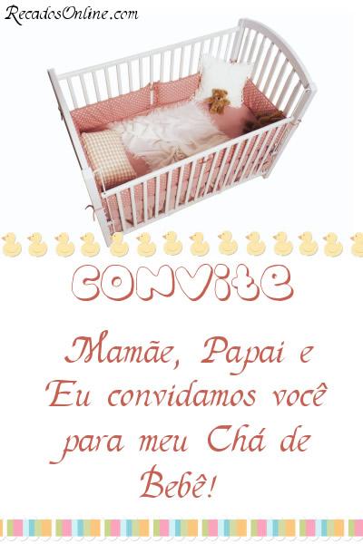 Convites para Chá de Bebê Imagem 6