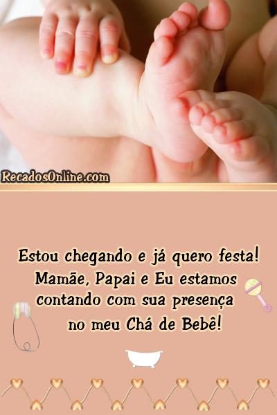 Convites para Chá de Bebê Imagem 7