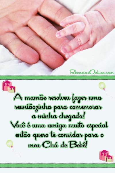 Convites para Chá de Bebê Imagem 8