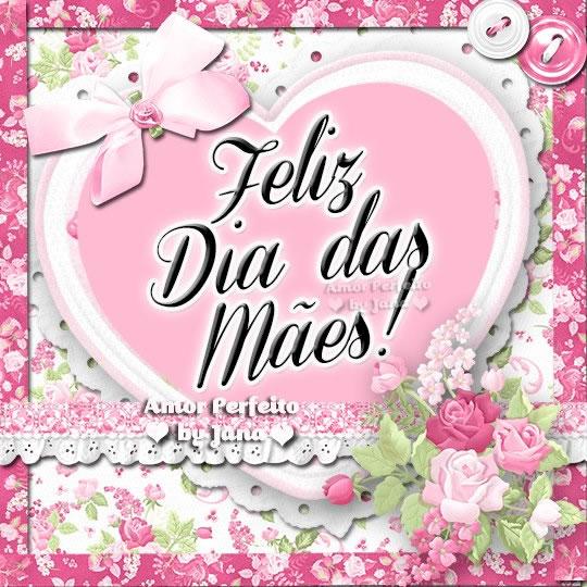 Dia Das Mães (Simples) Imagens, Mensagens E Frases Para