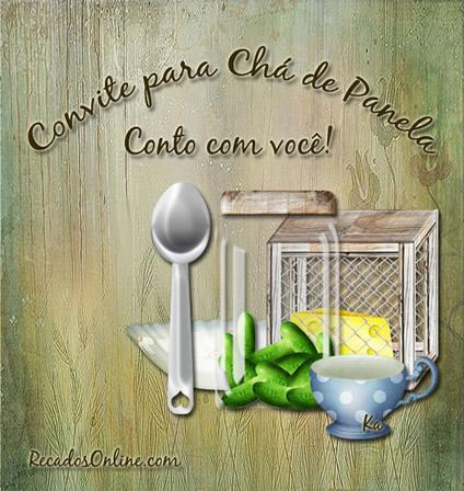 Convite para Chá de...