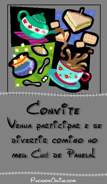Convites para Chá de Panela Imagem 8