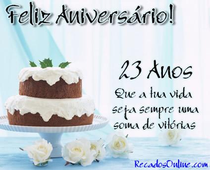 Feliz Aniversário! 23...