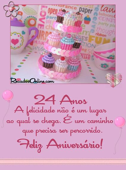 24 Anos A felicidade...