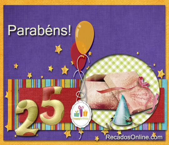 Parabéns! 25