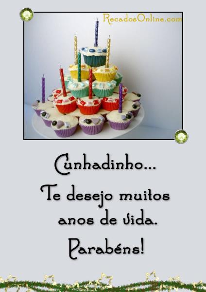 Feliz Aniversário Cunhado no Tumblr