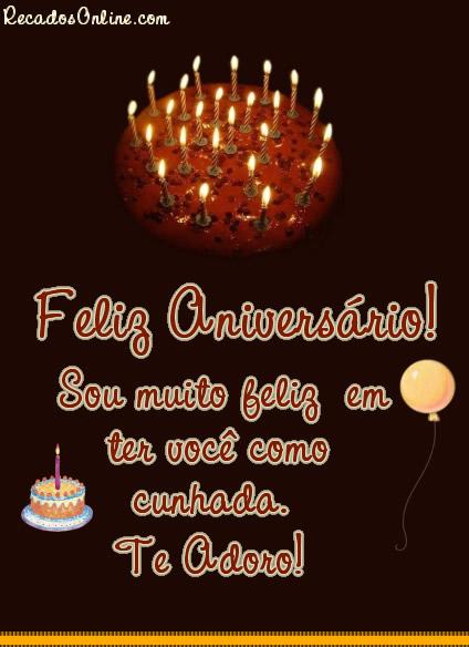 Feliz aniversário! Sou...