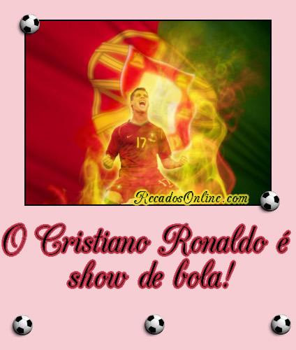 O Cristiano Ronaldo é show de bola!