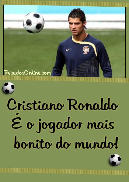 Cristiano Ronaldo É o jogador mais bonito do mundo!
