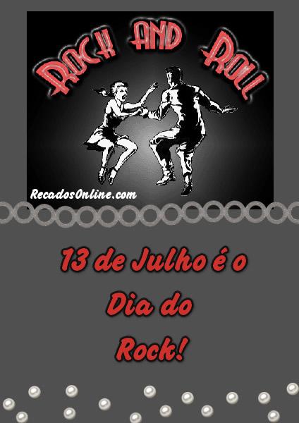 Rock and Roll 13 de Julho...