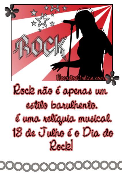 Rock não é...