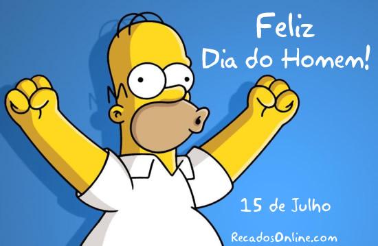 Feliz Dia do Homem! 15 de...