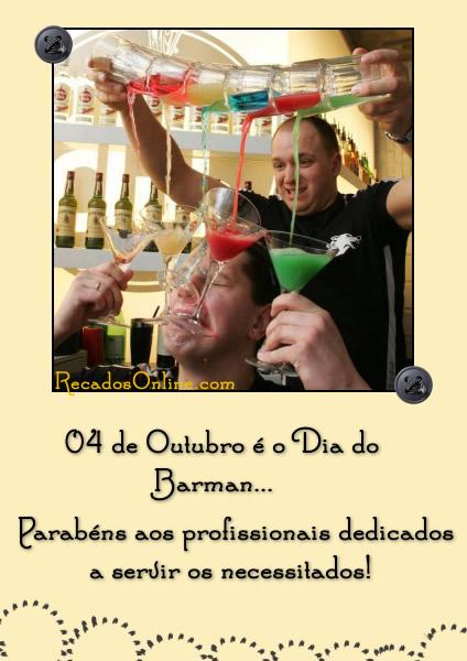 4 de Outubro é o Dia do...