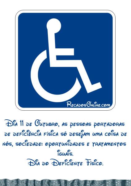 Dia do Deficiente Físico Imagem 4