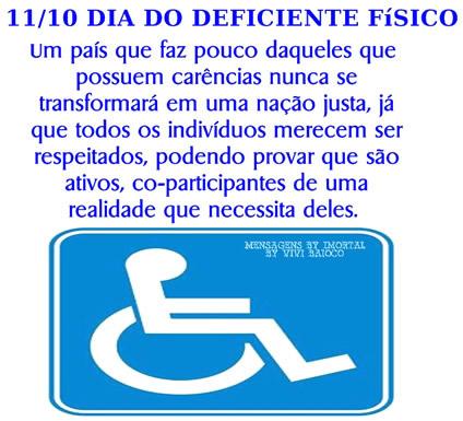 Dia do Deficiente Físico Imagem 8