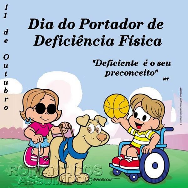 Dia do Deficiente Físico
