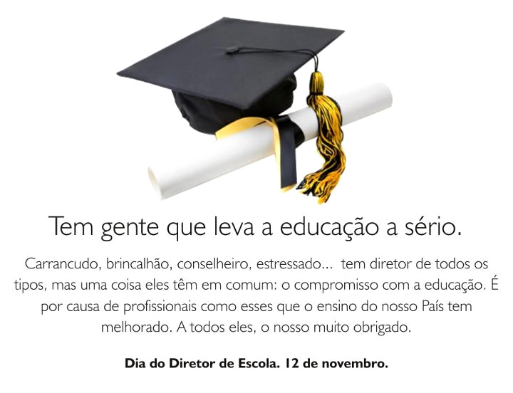 Dia do Diretor de Escola