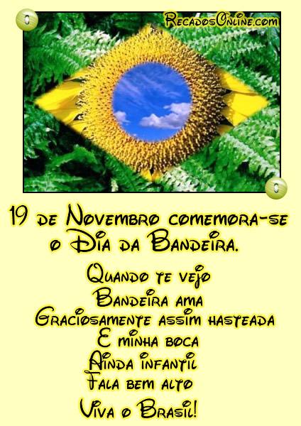 19 de Novembro comemora-se o...