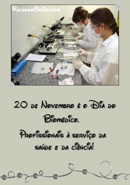 Dia do Biomédico Imagem 7