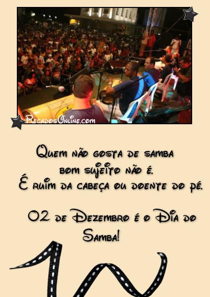 Quem não gosta de samba...