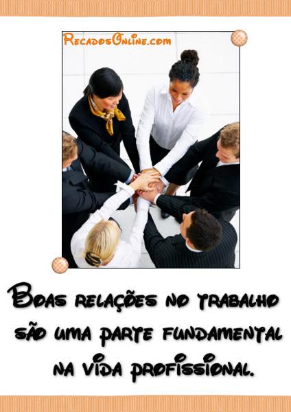 Amizade no Trabalho Imagem 1