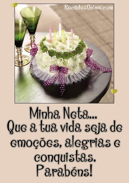 Feliz Aniversário Neta Imagem 2