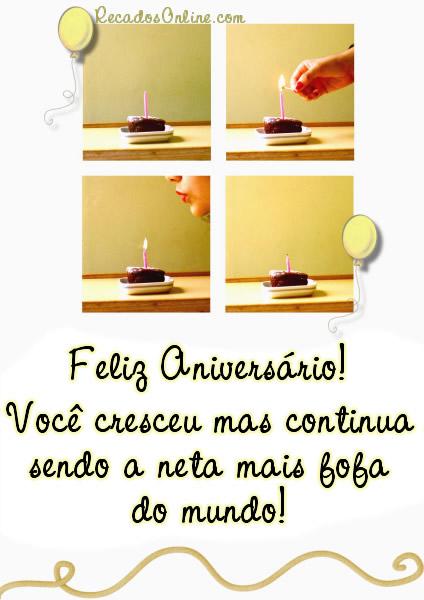 Feliz Aniversário Neta Imagem 8