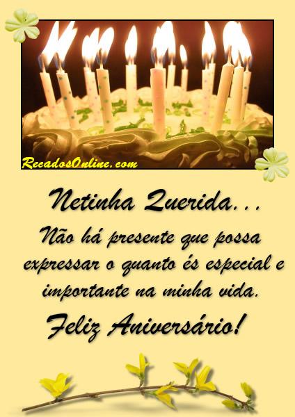 Feliz Aniversário Neta Imagem 10