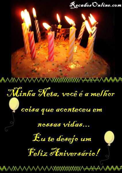 Feliz Aniversário Neta Imagem 4