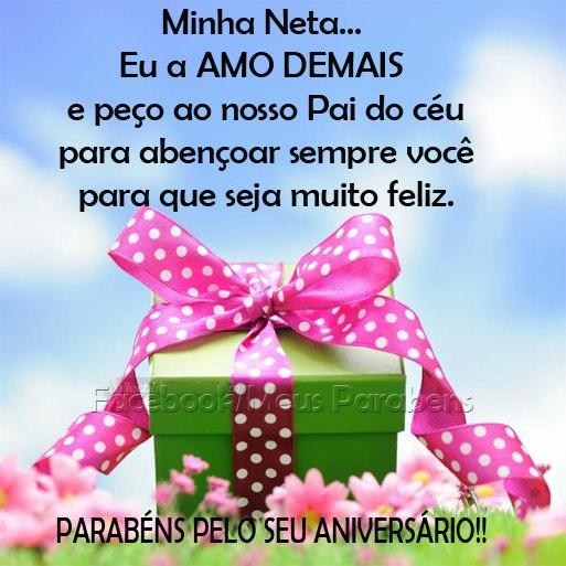 Feliz Aniversário Neta Imagem 1