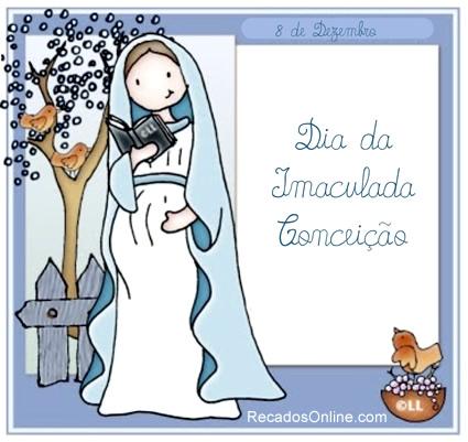 Dia da Imaculada Conceição 8 de Dezembro