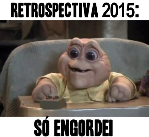 Retrospectiva 2013: Só engordei