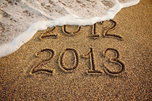 Recados de Ano Novo Simples