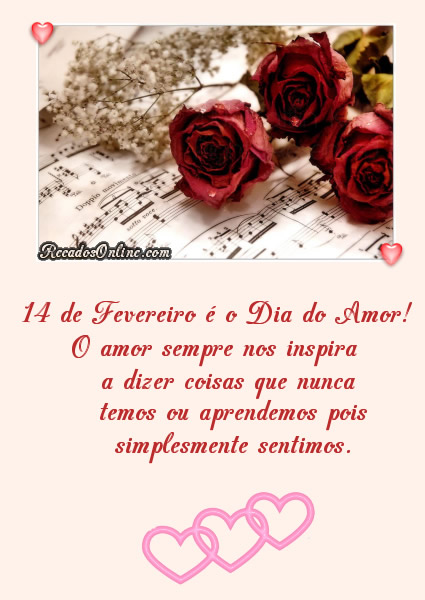 Dia Internacional do Amor