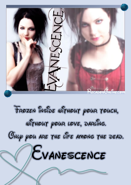 Evanescence imagem 1