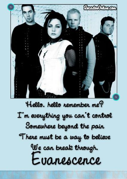 Evanescence imagem 7