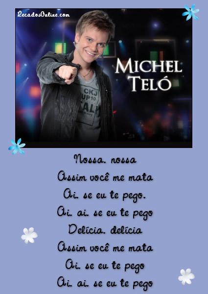 Michel Teló - Ai Se Eu Te Pego letra