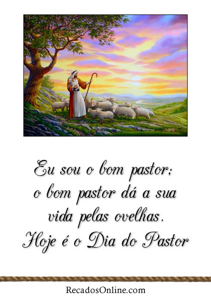 Dia do Pastor Imagem 2