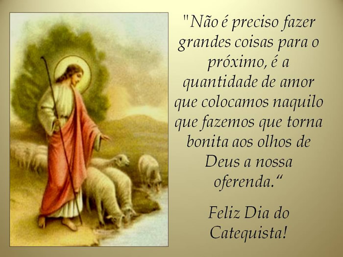 Dia do Catequista imagem 1