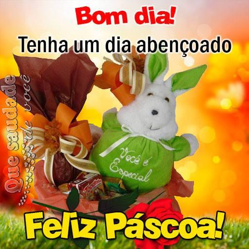 Tag Mensagem De Bom Dia Feliz Pascoa