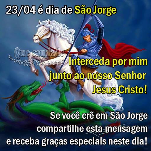 Dia de São Jorge Imagem 1