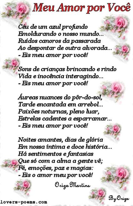 Poemas de Amor Imagem 6