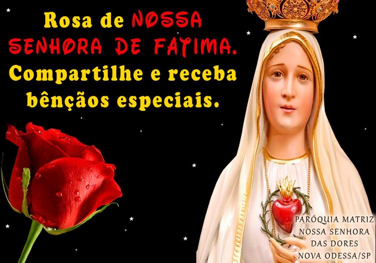 Dia de Nossa Senhora de Fátima imagem 2