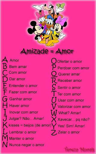Alfabeto do Amigo Imagem 5