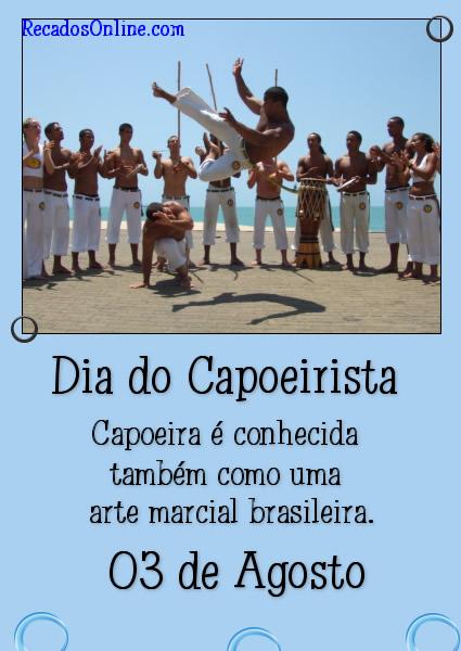 Dia do Capoeirista Capoeira...