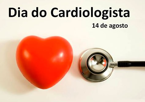 Dia do Cardiologista 14 de agosto.