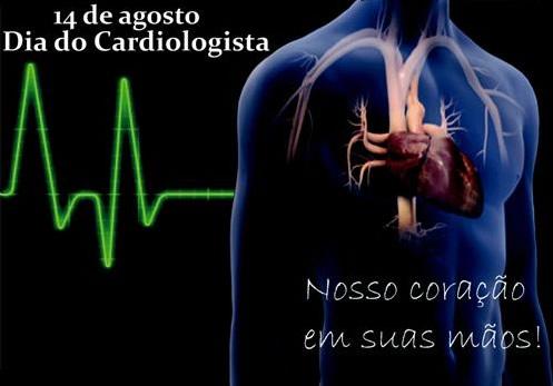 Dia do Cardiologista Nosso coração em suas mãos!